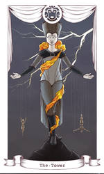 Harlequin Tarot - The Tower