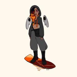 Later, Lava Skater
