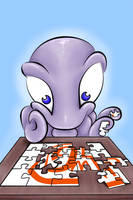 Gooey Puzzle pieces by DarciGibson