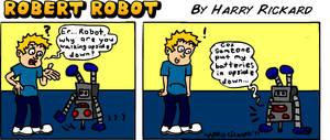 Robert Robot Strip 2 by WizzKid97