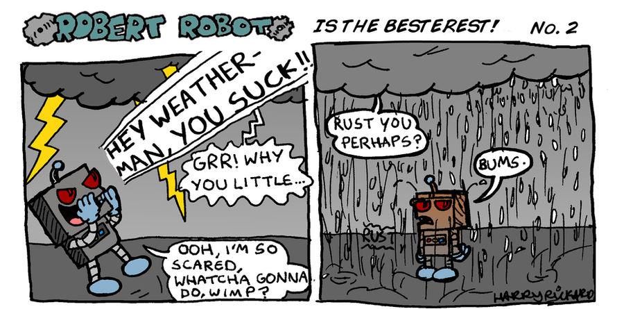 Robert Robot ITB No.2 by WizzKid97