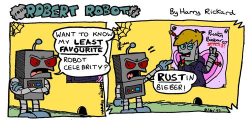 Robert Robot Strip 3 by WizzKid97