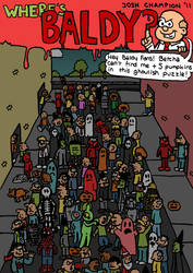 Where's Baldy - Halloween by WizzKid97