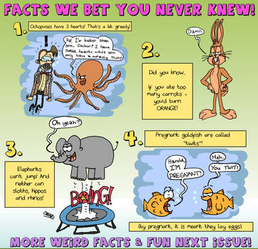 Facts You Never Knew! by WizzKid97