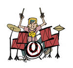 GRAPHICS: Drummer