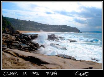Clash of the Titan by clae85