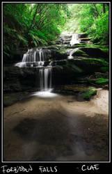 Forbidden Falls. by clae85