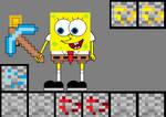 SpongeBob plays Minecraft