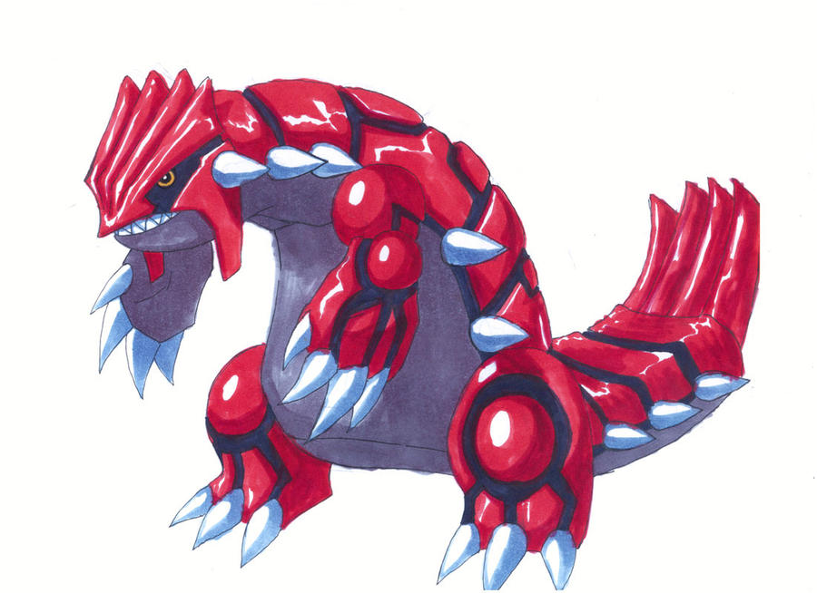 legendary pokemon groudon - photo #13