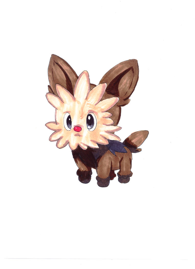 Pokemon Artwork: Yorterry by Pixelated-Takkun