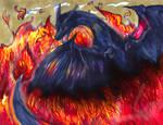 Charizard Used Blast Burn