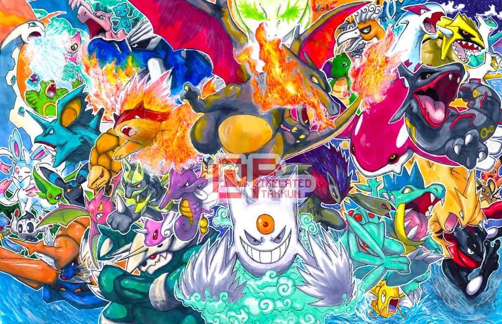 Shiny Pokemon By Pixelated Takkun On Deviantart