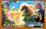 Okamirai Chapter 32 Cover by Pixelated-Takkun