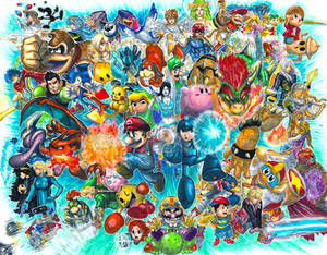 Super Smash Bros. for 3DS and Wii U!!