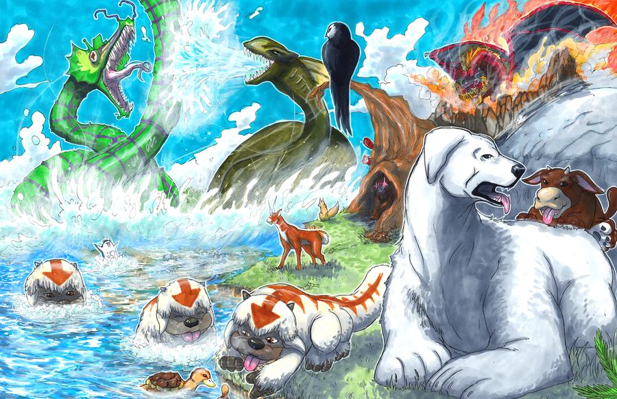 Avatar World Fauna by matsuyama-takeshi