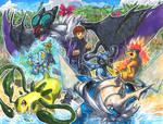Commission: Beach Battle