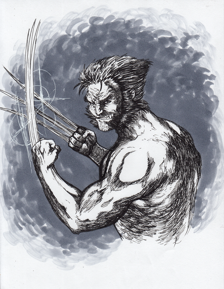 Wolverine Inked 2 by matsuyama-takeshi