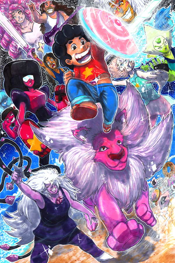 We are the Crystal Gems! by matsuyama-takeshi