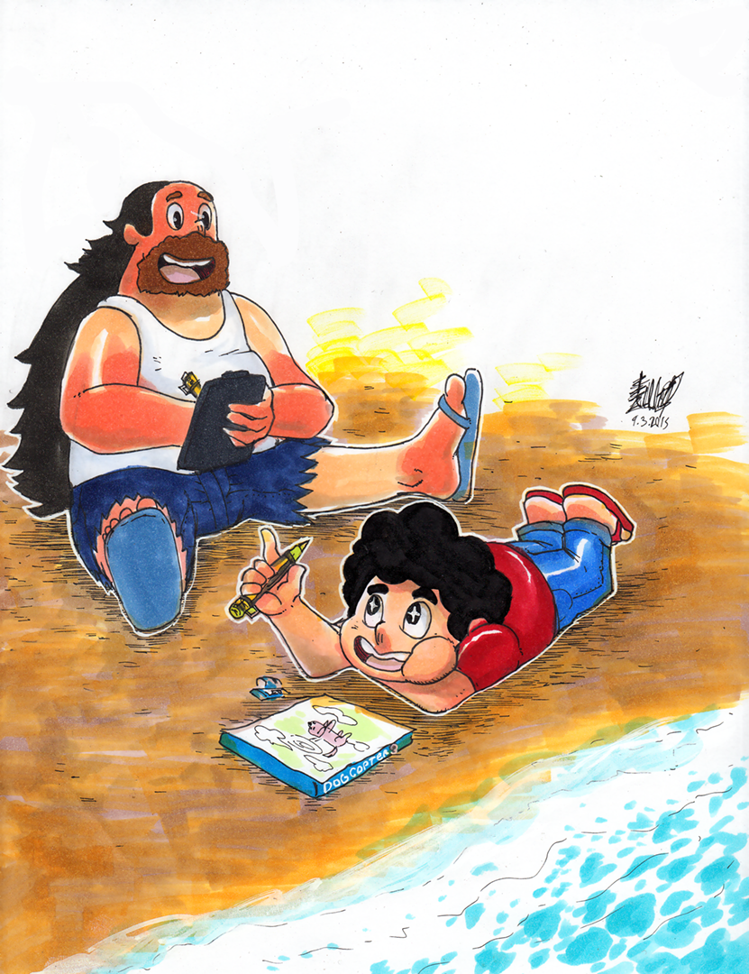 Greg-and-Steven by matsuyama-takeshi