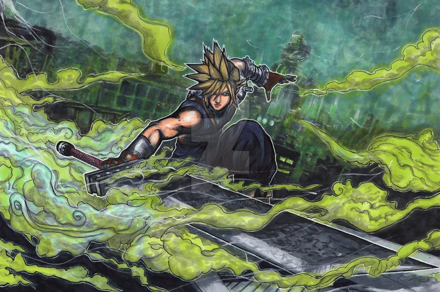 Smash Series: Cloud Storms Into Battle! by matsuyama-takeshi