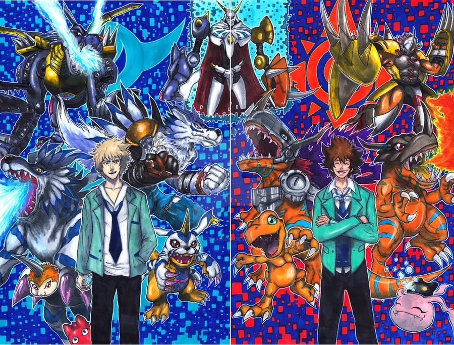 Digimon Tri: Omegamon Special by matsuyama-takeshi