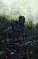 A Glimpse of Wakanda by Pixelated-Takkun