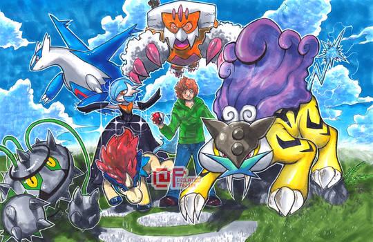 Commission: Pokemon League