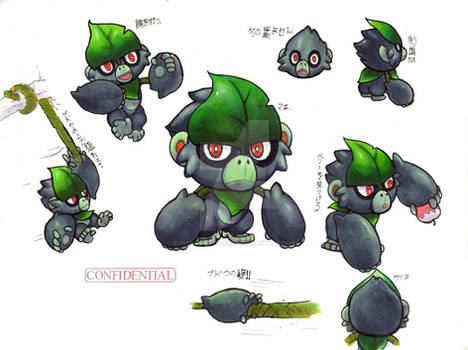 My Gen 8 Starter Fakemon: Grass Starter
