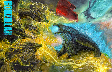 Godzilla: King of the Monsters Melee! by Pixelated-Takkun