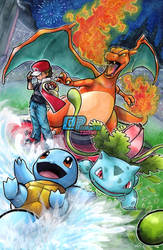 Smash Series: Pokemon Trainer by Pixelated-Takkun
