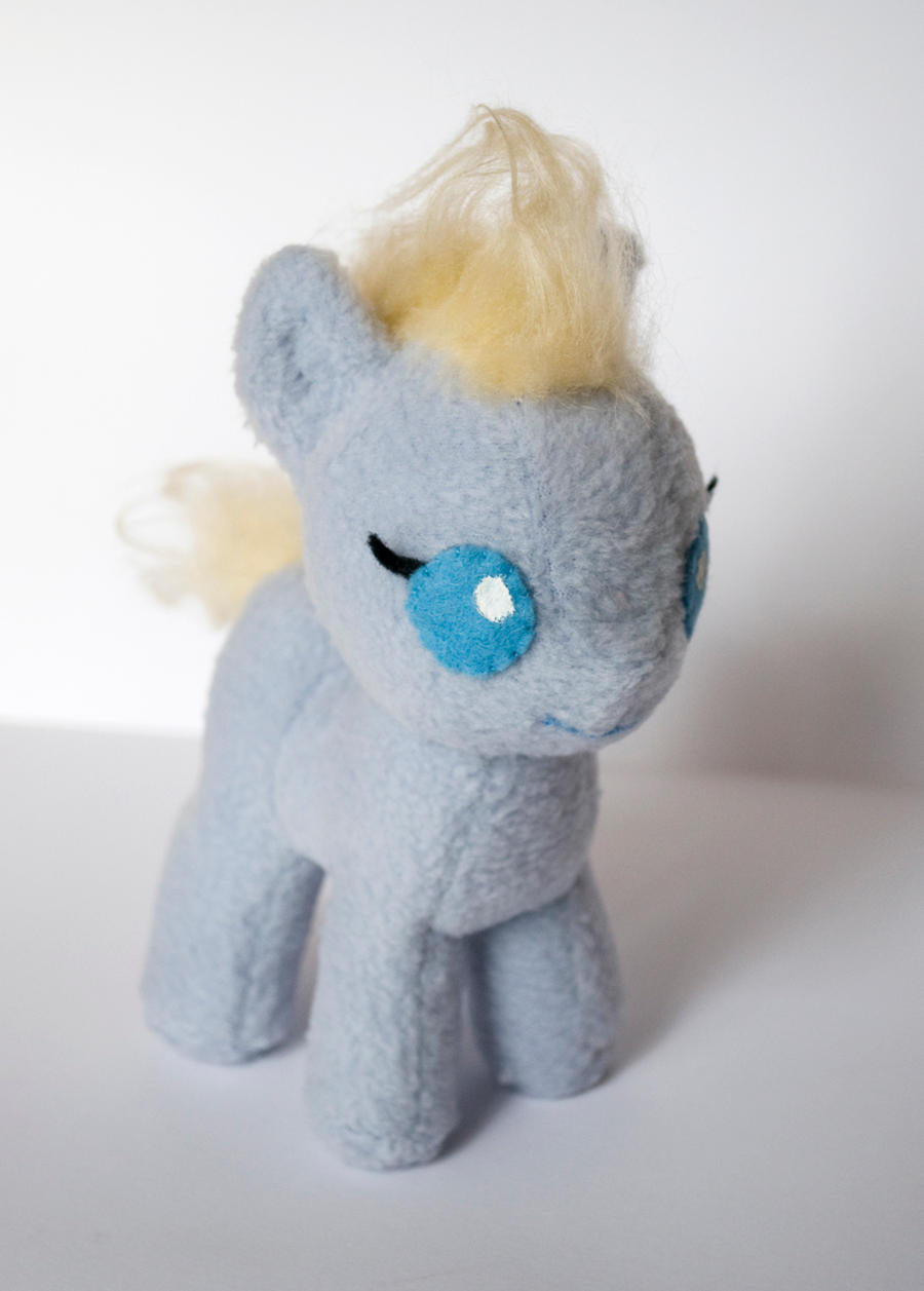 MLP Custom Plushie: Un-named Baby Pony Trial by ivy-cinder