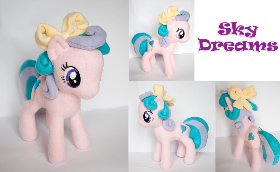 MLP OC Commission: Sky Dreams by ivy-cinder