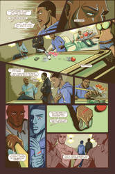 Life Or Death graphic novel Issue 1 one of pages