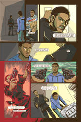 Life Or Death graphic novel Issue 1 one of pages 2