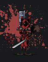 Rocket Raccoon Deadpool by kamy2425