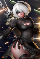 2B Nier Automata By EXVEIN by EXVein