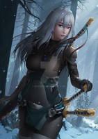 Verdandi The Snow Princess by EXVein