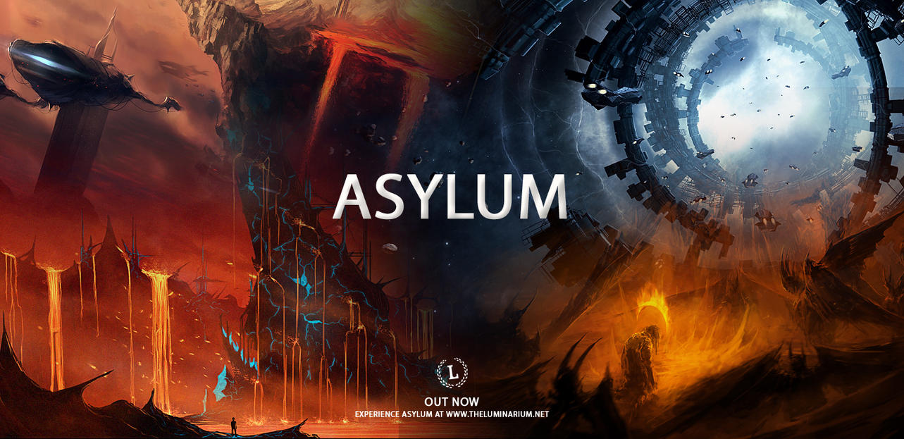 Asylum in #theluminarium, by *Smiling-Demon