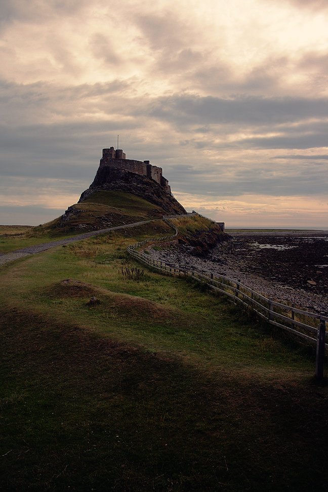 Lindisfarne Castle by Smiling-Demon