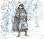 Beren in Dorthonion by amorphouscarpus