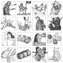 Box Caption Illustrations