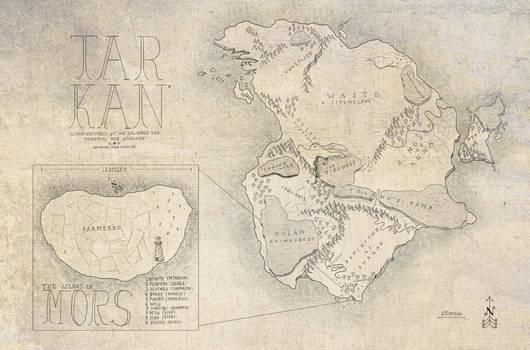 Map of Tarkan
