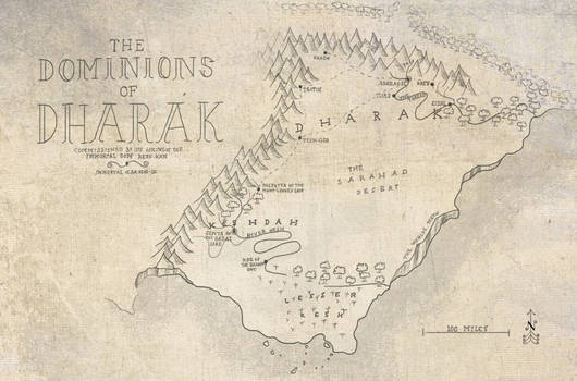 Map of the Dominions