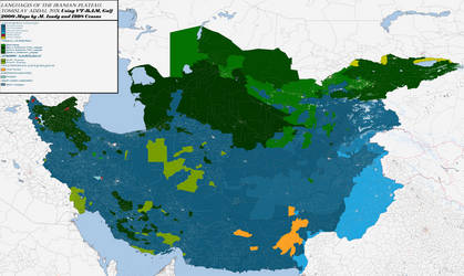 VT-BAM Linguistic MENA: Greater Iran by TomislavAddai