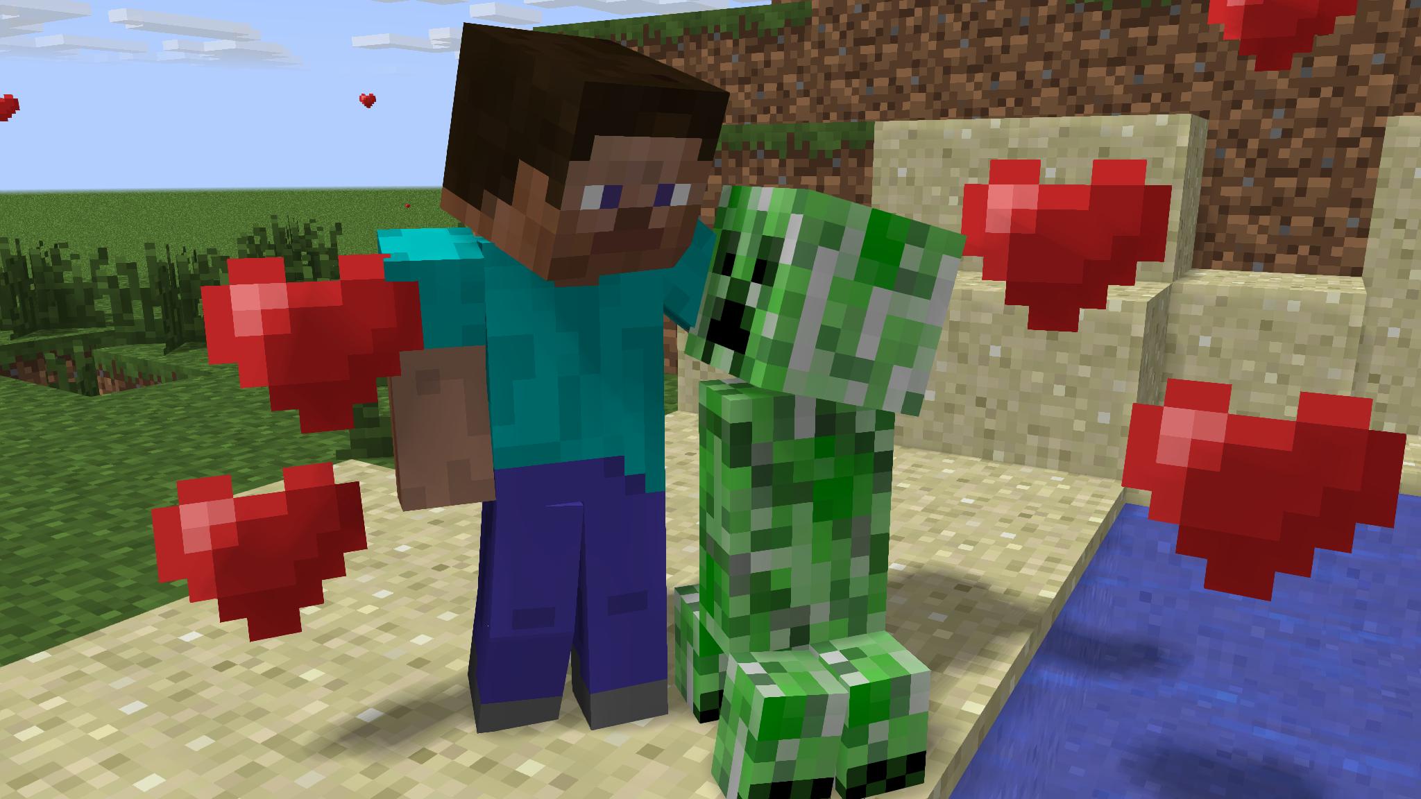 Minecraft steve and creeper by mredpicworld - Minecraft creeper and steve ...