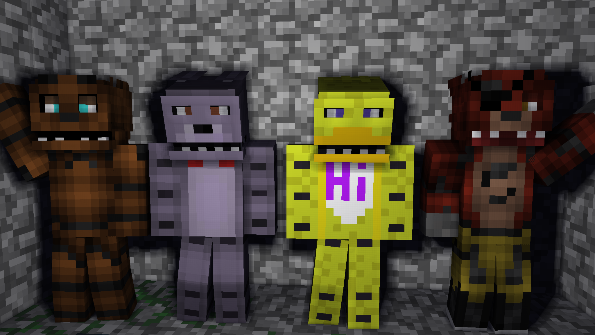 Minecraft Five Nights at Freddy's! by MrEdPicWorld on DeviantArt