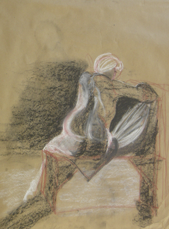 Life Drawing XIII by KerrithJohnson