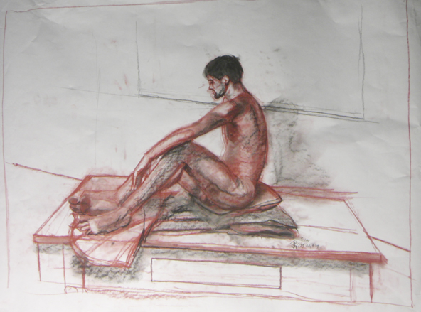 Life Drawing XX by KerrithJohnson