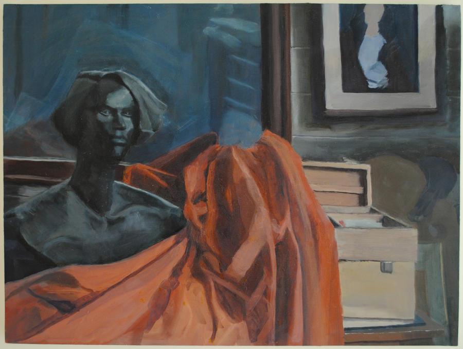 Still Life: Artist Studio by KerrithJohnson