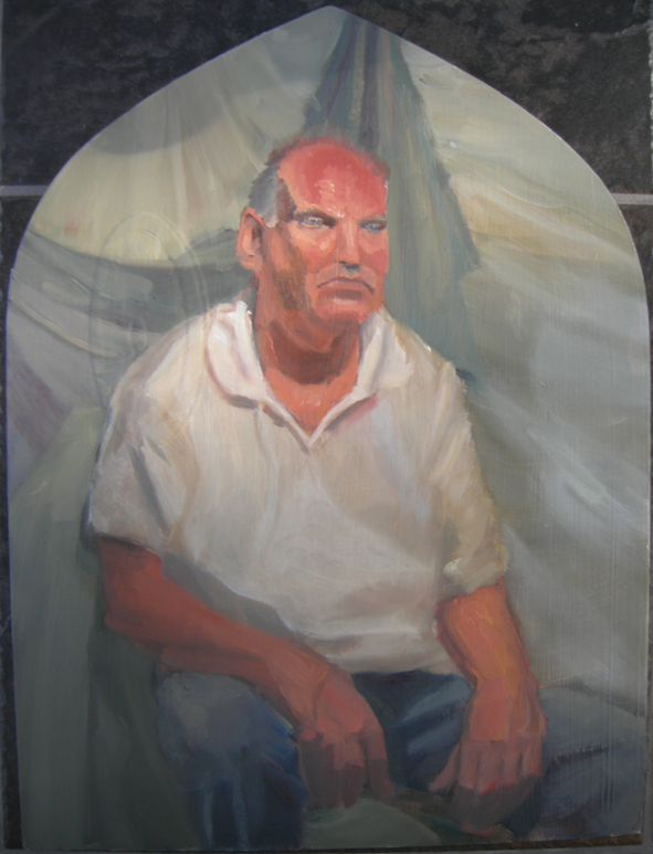 Man Sitting by KerrithJohnson